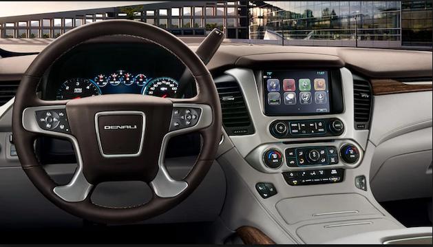 مجلة سيارة داخلية جي ام سي يوكن XL موديل 2018 - مجلة سيارة