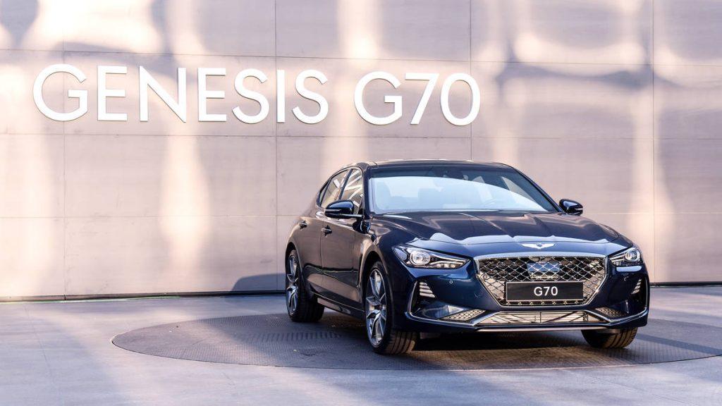 جينيسيس G70 موديل 2018 بريستيج