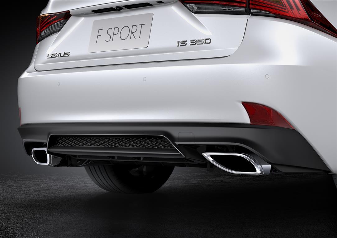 خلفية لكزس IS موديل 2018 فئة 350 FF Sport Plus