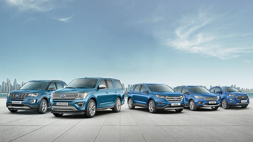 أفضل السيارات المتعددة الاستعمالات SUV من فورد