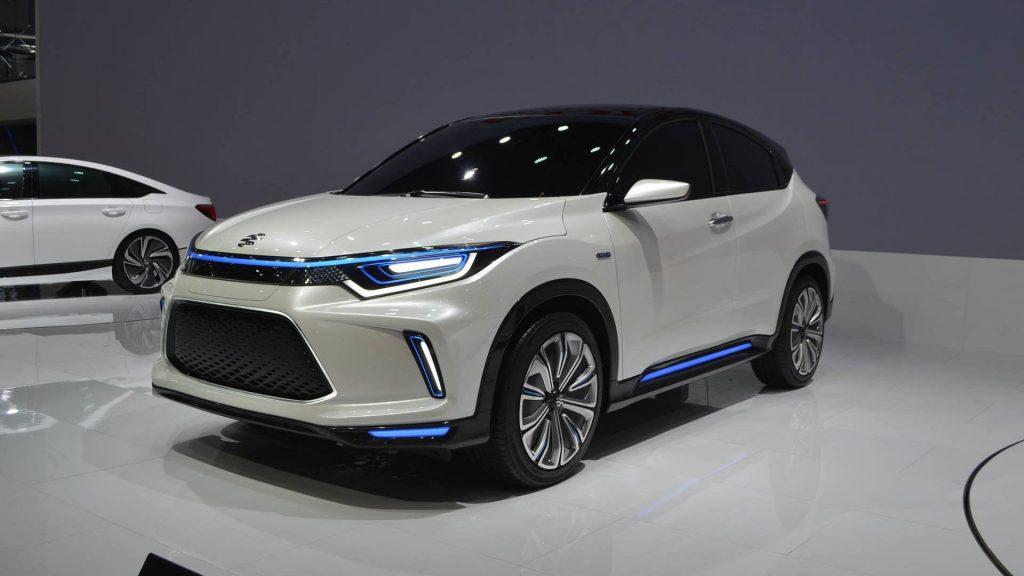 السيارة الكهربائية ايفروس VE-1 من هوندا