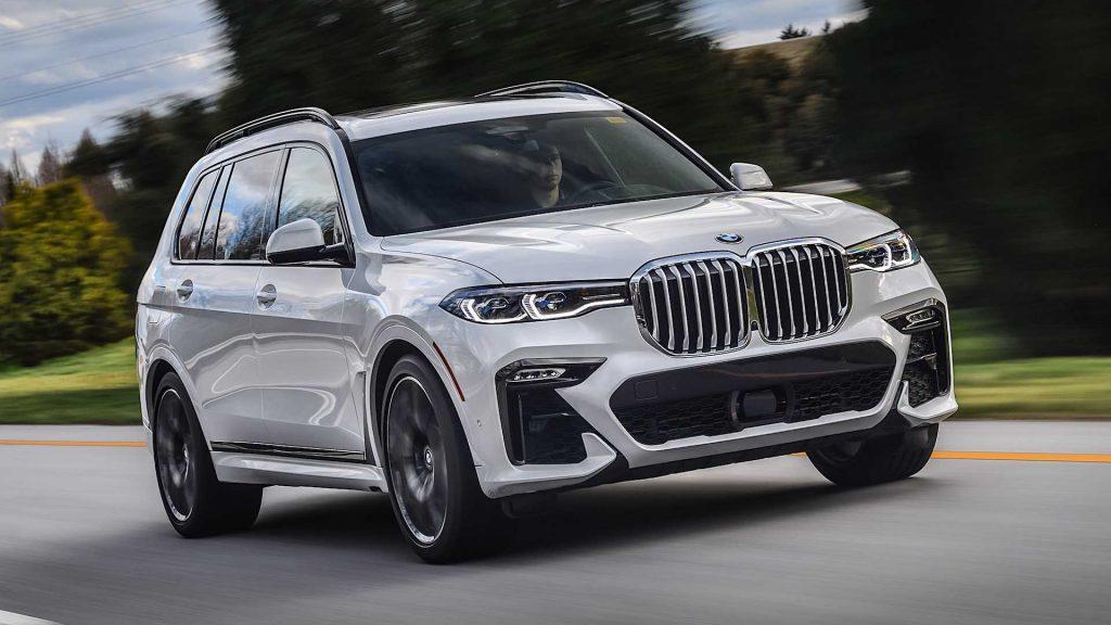صور سيّارة الدفع الرباعي BMW X7