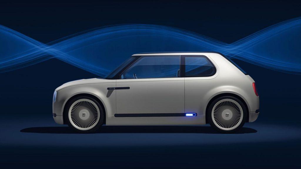 أوربان سيّارة كهربائية مستقبليّة من هوندا