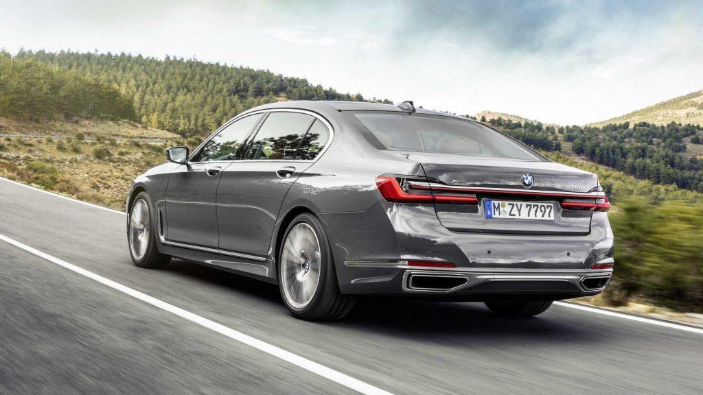 750Li موديل 2020 سيارة السيدان الفاخرة كبيرة الحجم من BMW