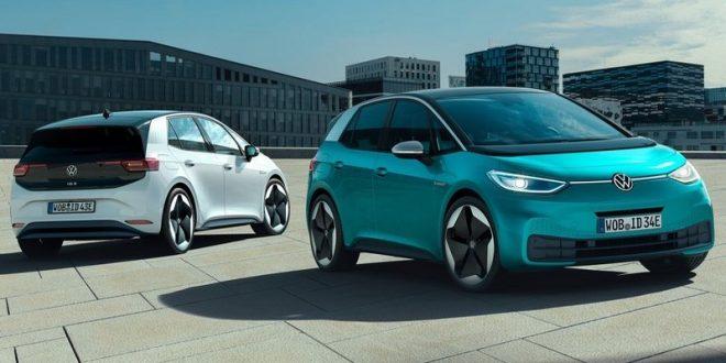 فولكس فاجن تزيح الستار لجمهور فرانكفورت عن سيارتها ID.3 موديل 2020