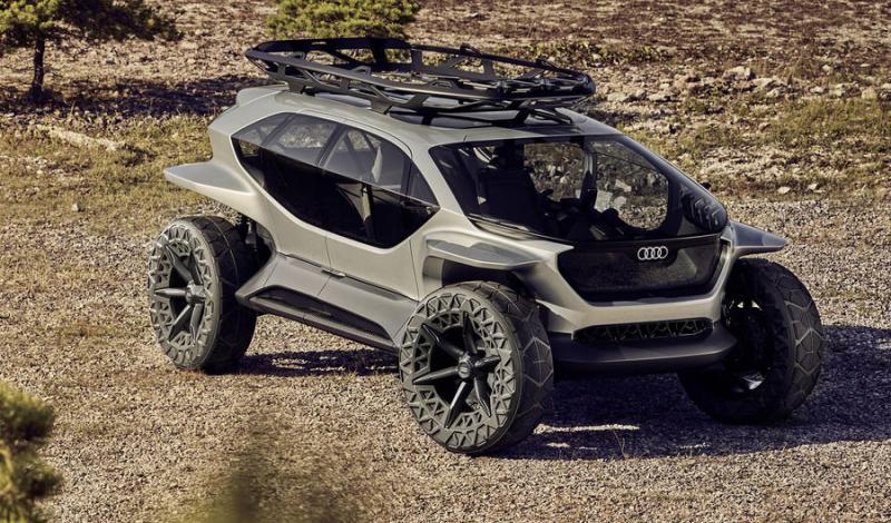 """""""أودي"""" تكشف عن سيارة """"AI: Trail"""" ذاتية القيادة في معرض فرانكفورت"""