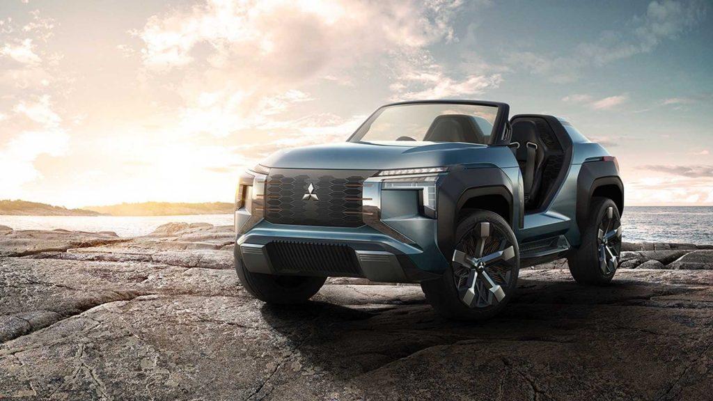 ميتسوبيشي Mi-Tech ... SUV إختبارية جديدة بتصميم مثير للجدل