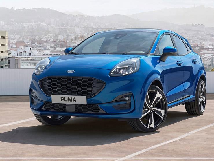 فورد تطلق نسخة كوبيه من Puma شبيهة بسيارات الـSUV