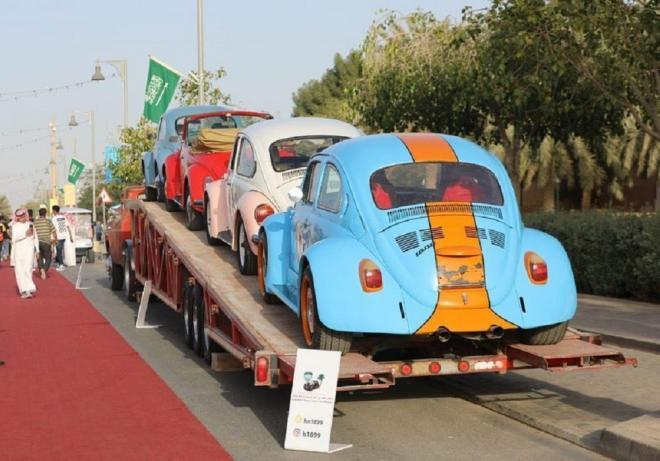 مهرجان الدرعية الخامس للسيارات الكلاسيكية يشهد إقبالاً كبيراً