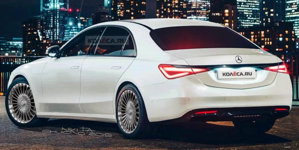 مرسيدس بنز أس كلاس 2021 الجديدة كلياً – الاصدار القريب لأفخم سيارات السيدان القادمة