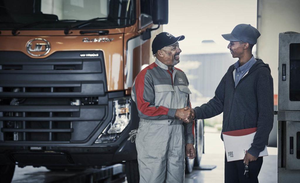 شاحنات يو دي تمدّد الضمان لمركباتها في الشرق الأوسط، شرق وشمال أفريقيا