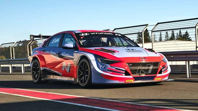 هونداي إلنترا تكشف عن اصدار مخصص لسيارات السباق Ntcr..