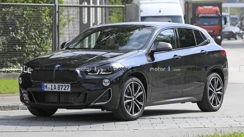صور مسربة لـ Facelift BMW X2 الجديدة