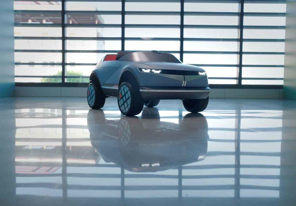 هيونداي موتورز تكشف النقاب عن أصغر سياراتها الكهربائية