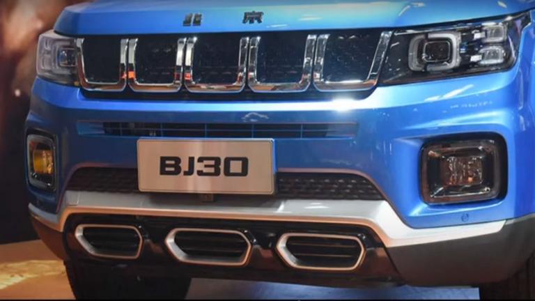 الصين تنافس jeep برباعية دفع مميزة