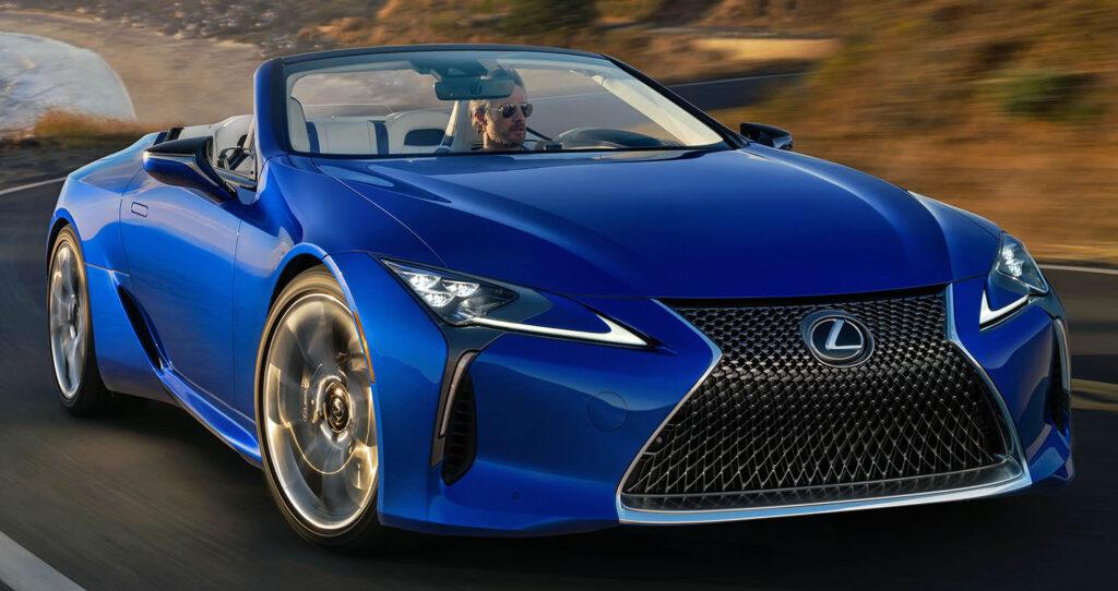 لكزس تتألق بسيارة أل سي 500 كونفيرتيبل 2021 الجديدة بالكامل ..