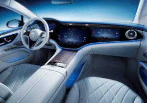سيارة EQS الجديدة تصميم يضمن المتعة لجميع الحواس