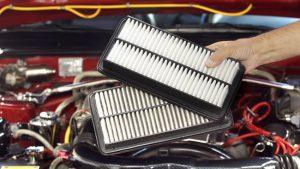 هل يمكن تنظيف فلتر الهواء في السيارة ؟